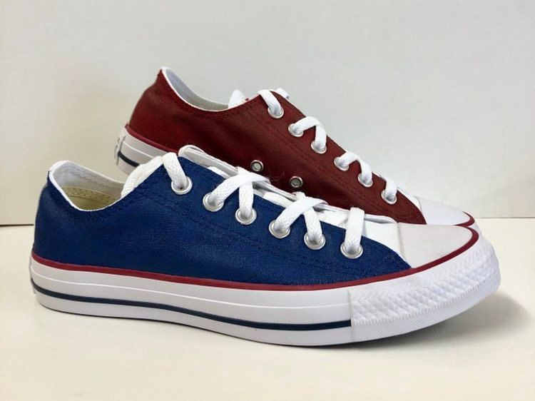 Bowling Shoe Converse Hand Painted by