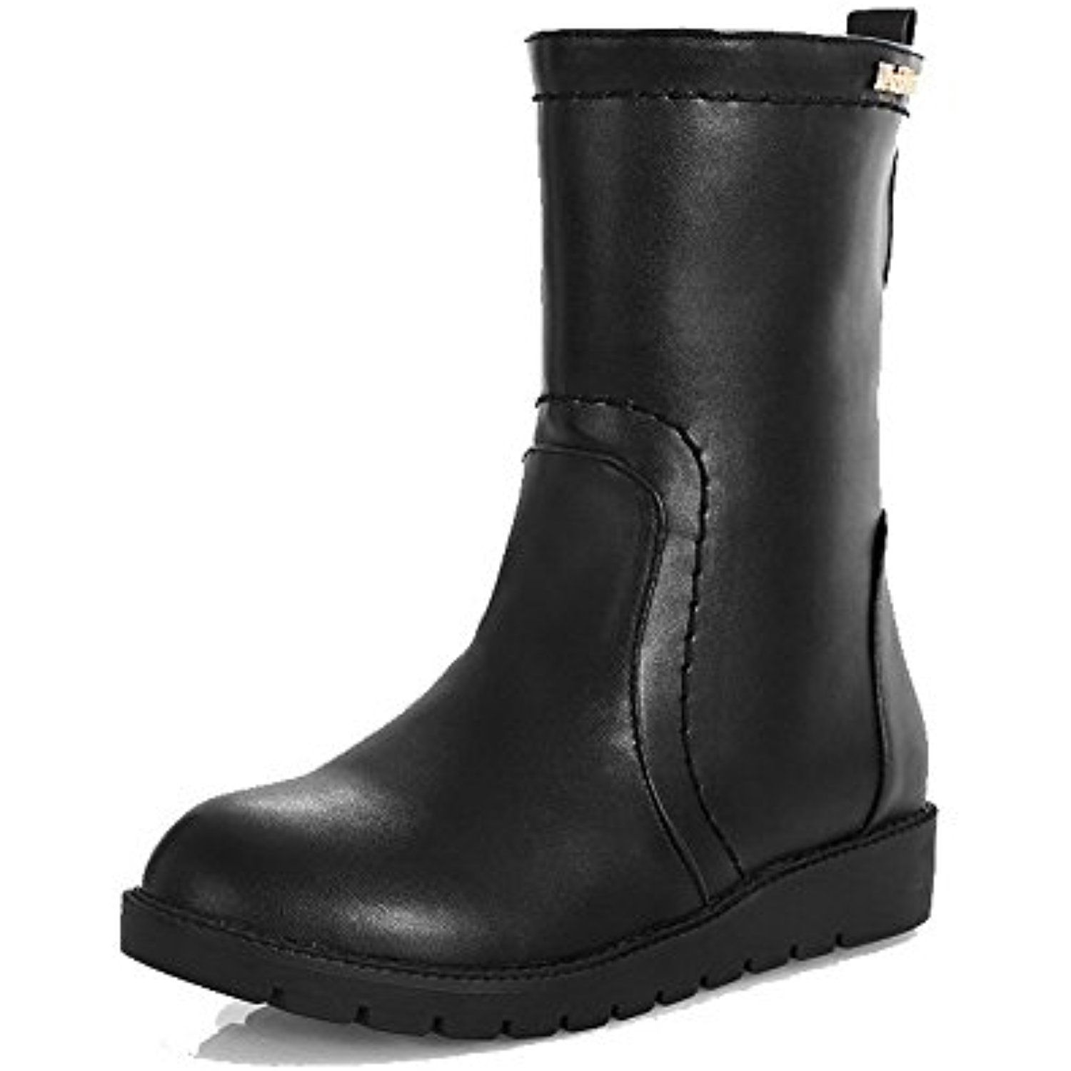 Women's Frosted Assorted Color Closed-Toe Boots With Graffiti Pattern