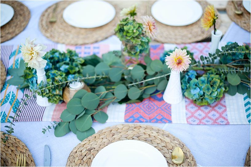 Outdoor boho inspired party