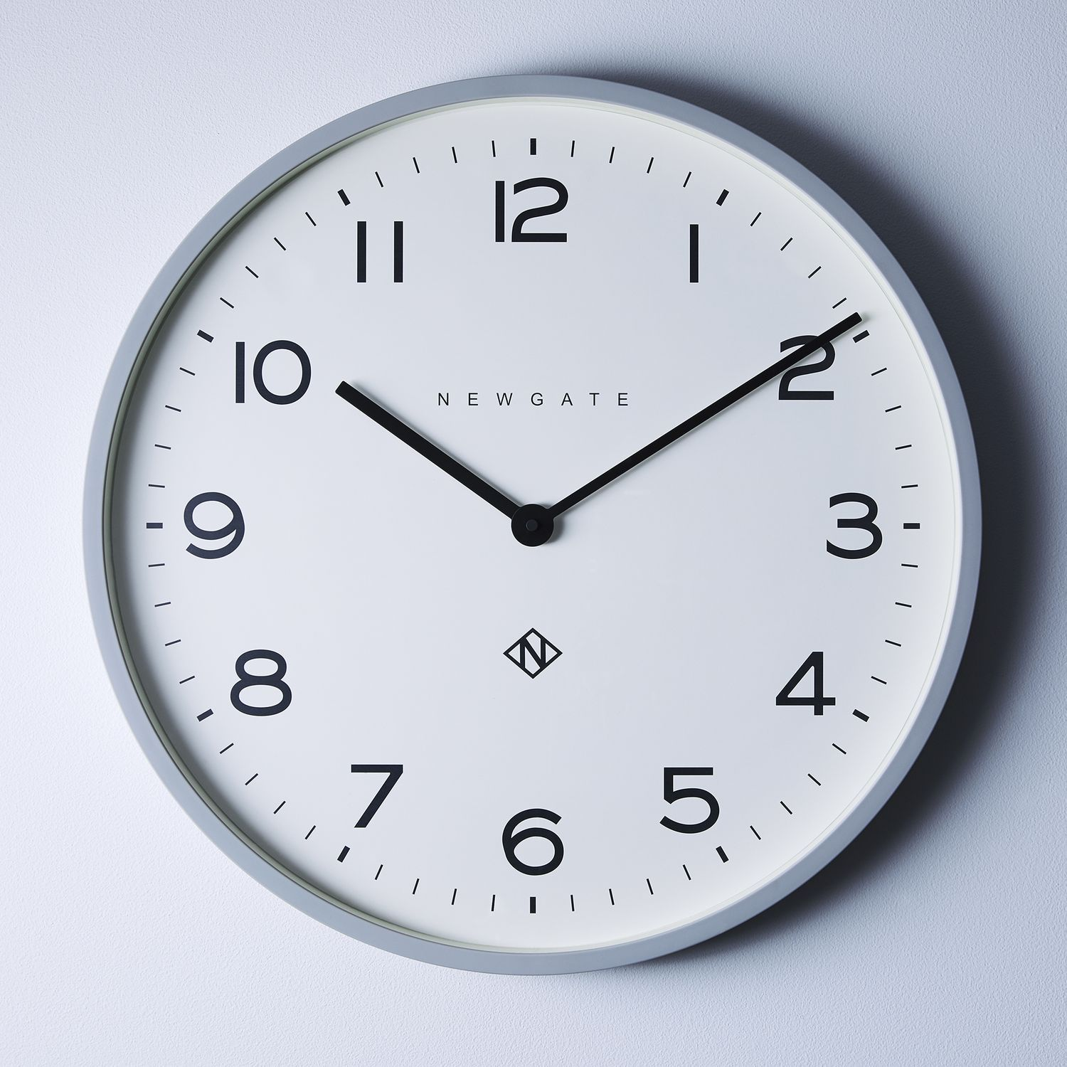 Number One Echo Wall Clock Clock Cottage Style Number One