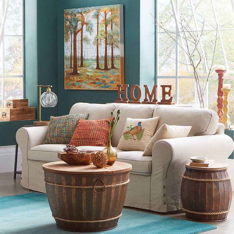 Bon Embrace The Autumn Season By Changing Up Your Living Room Look With A Few  Simple Décor Changes. Consider Incorporating Todayu0027s Trendy Color Palette  Of.