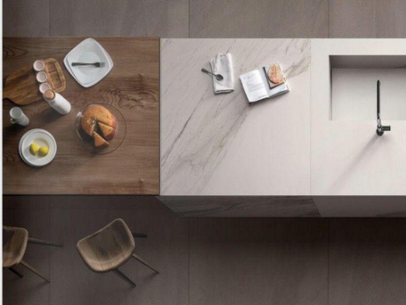 Mega Dalle De Carrelage En Grs Crame 6mm Grand Format Dimension Regarding Carrelage Grande Dalle Jd3ddesigns Com In 2020 Joinery Kitchen