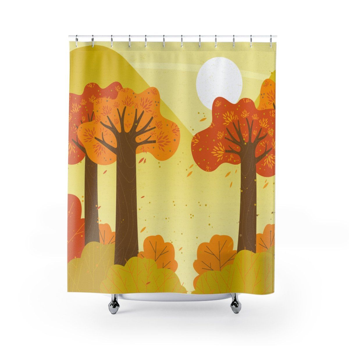 Autumn Shower Curtain Curtains Special Gifts Lovers Art