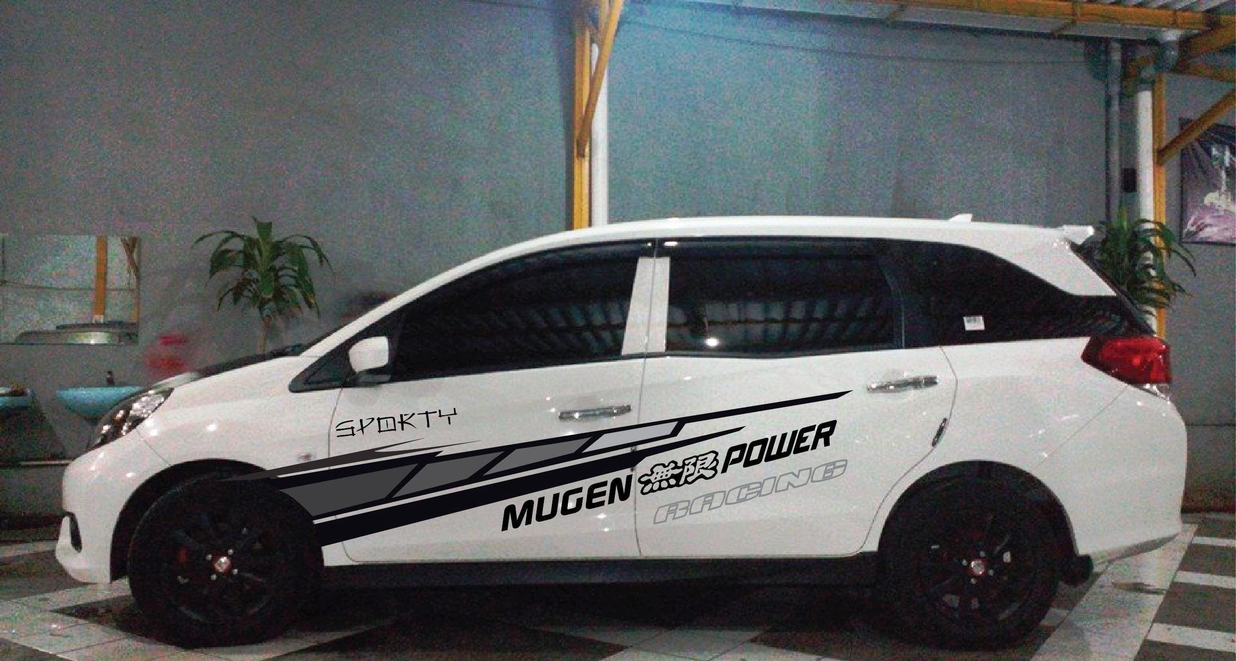 Modifikasi Mobil Avanza Veloz Putih Modifikasi Mobil Mobil Stiker Mobil