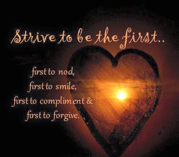 Strive to be the first     | I love the Woman I'm becoming