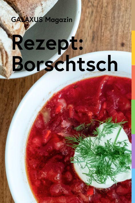 Borschtsch ist eine Randensuppe, die vorwiegend in Ost- und Ostmitteleuropa gekocht wird. Simon zeigt dir, wie du die leckere Suppe in kurzer Zeit zubereiten kannst.