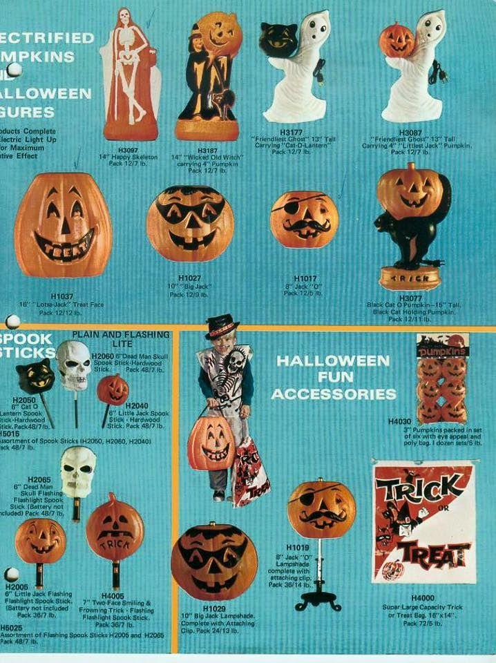 Vintage Halloween Advertisement.