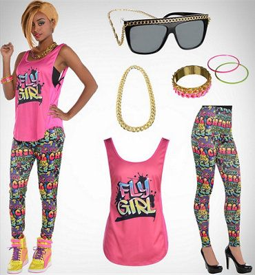 View All Womens Looks Make Your Costume Costume Accessories 90s Theme Party Outfit 80s Party Outfits 90s Party Outfit