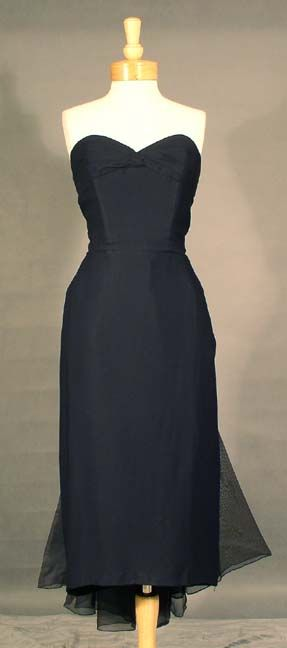 1950 S Wiggle Dress Vintage Bridesmaid Dresses Navy Cocktail Dress Fabulous Dresses