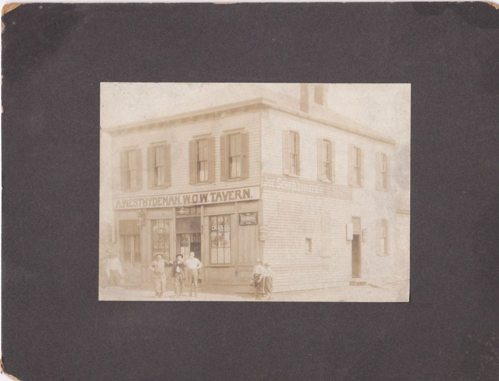 Sold On Ebay Early 1900s Photo Westhydeman Tavern Louisville Ky