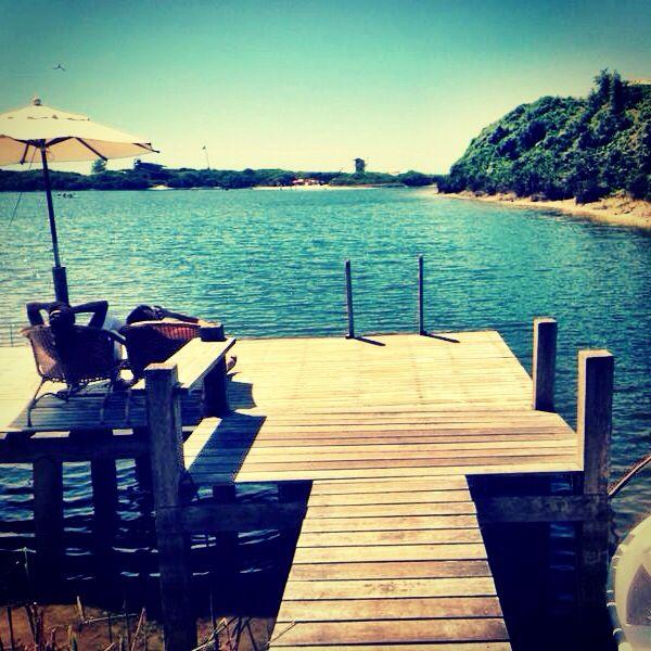 Na lagoa