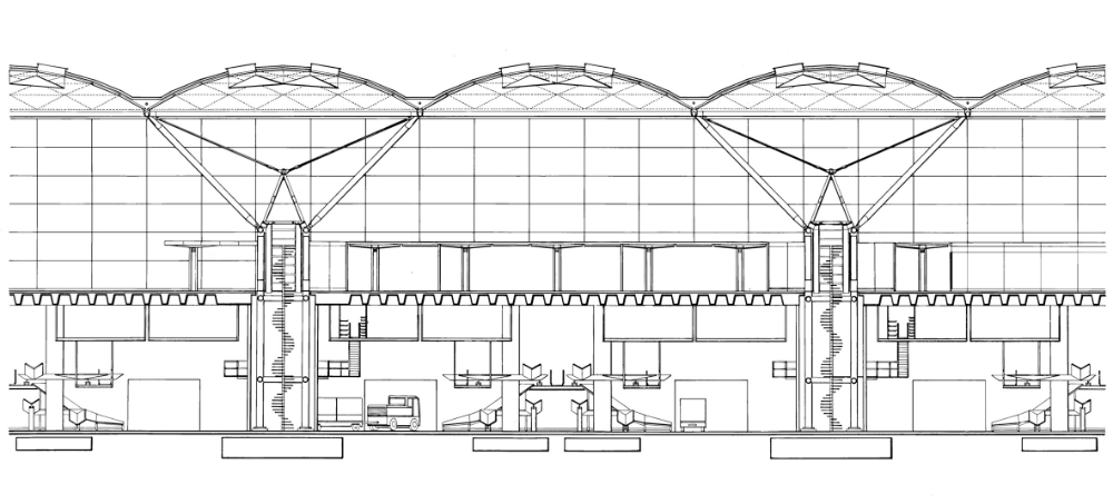 Stansted Airport Challenged The Rules Of Terminal Design In 2020 Norman Foster Foster Partners Train Station Architecture