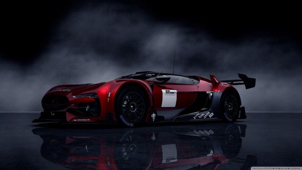 Citroen Gt Sports Car Game Hd Wallpaper Games Desktop Hd Wallpapers Sports Car Wallpaper Super Sport Cars Car