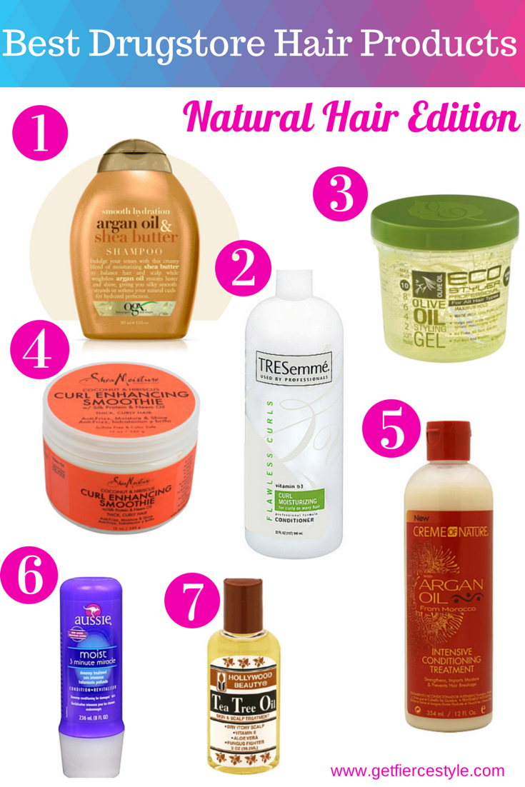 natural hair products find