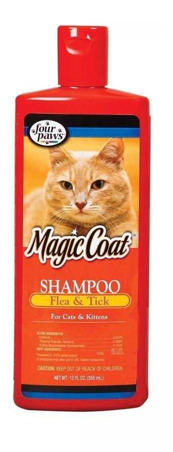 Magic Coat Flea & Tick Shampoo for Cats & Kittens Flea