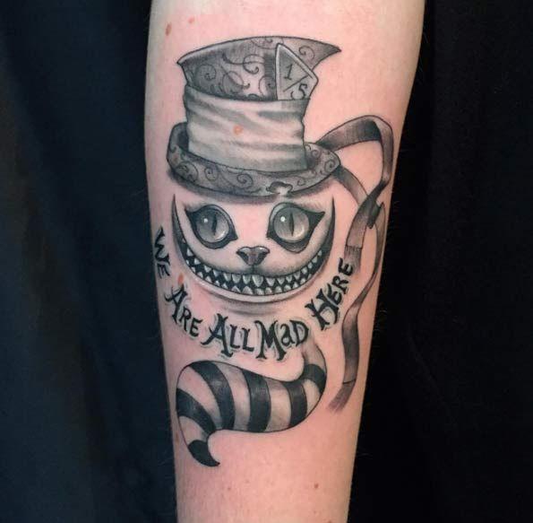 150 Charming Alice In Wonderland Tattoos January 2019