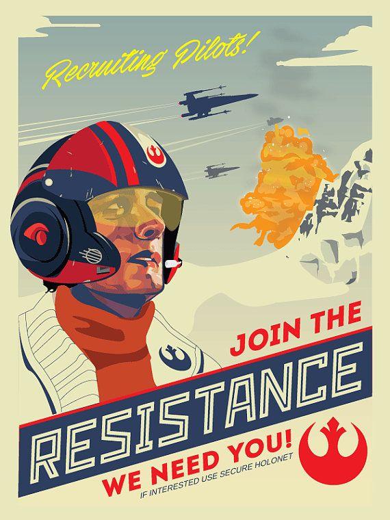 Poe Dameron, Star Wars Resistance | Unframed #dreamroomsforwomen