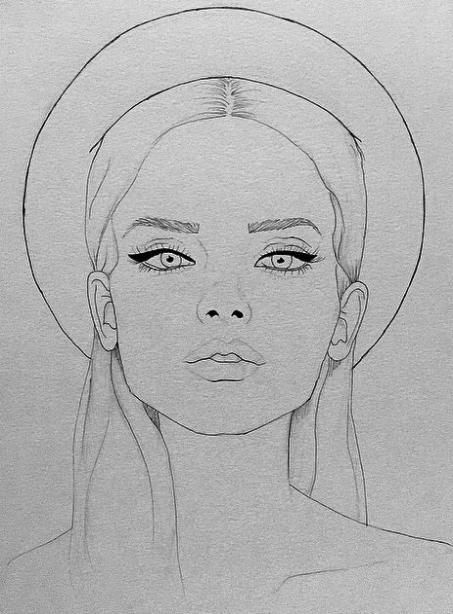 Photo of Trendy fashion illustration face sketches beauty 41 ideas