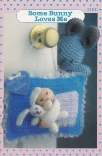 Some Bunny Loves Me Annies Crochet Pattern 87e41 Bunny Rabbits