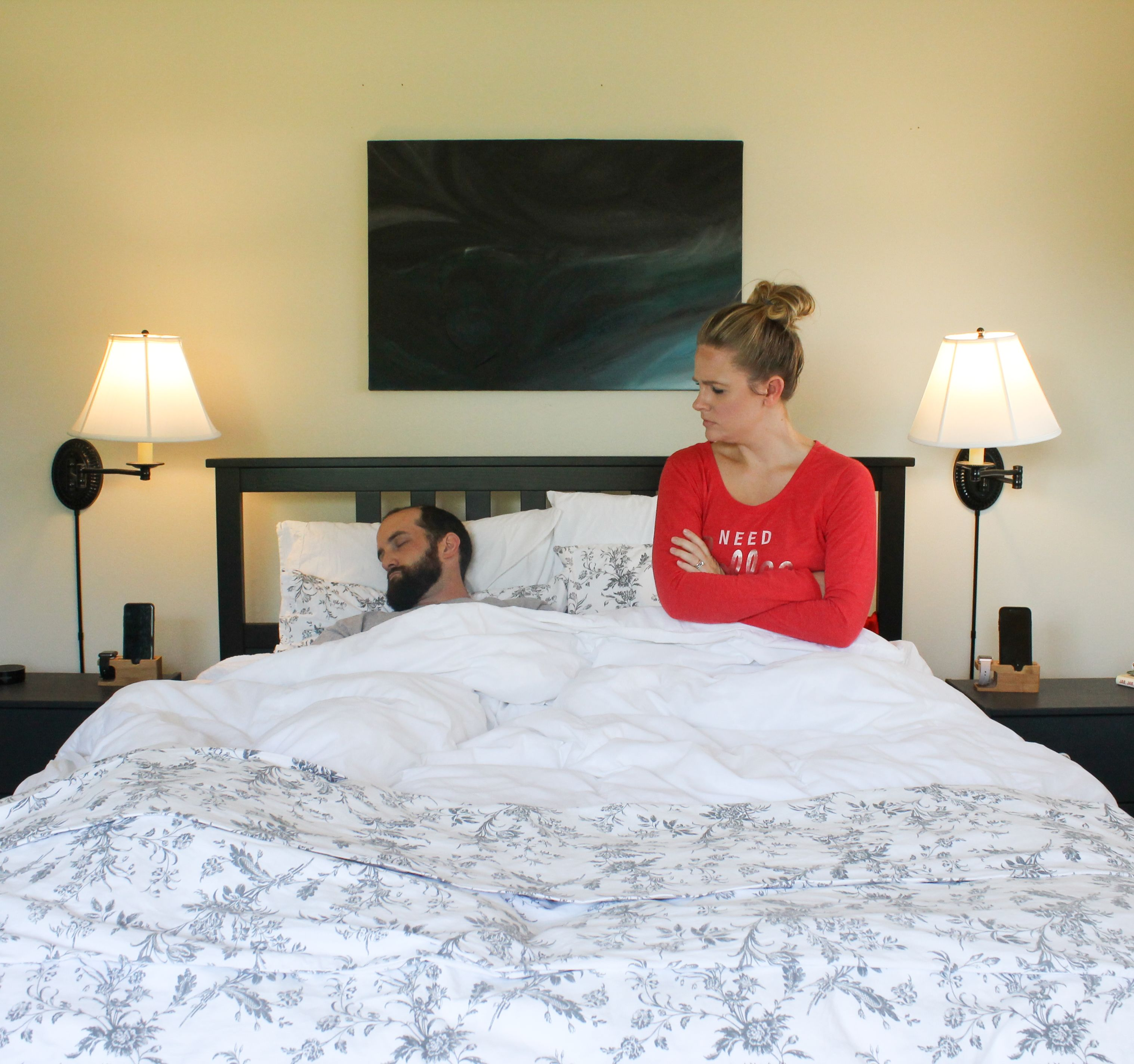 Intimacy in the bedroom