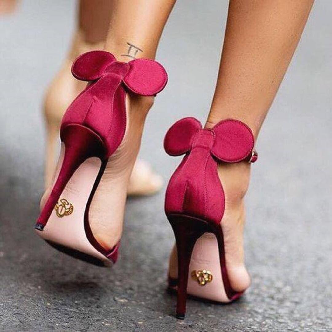 oscar tiye heels | Heels, Minnie mouse