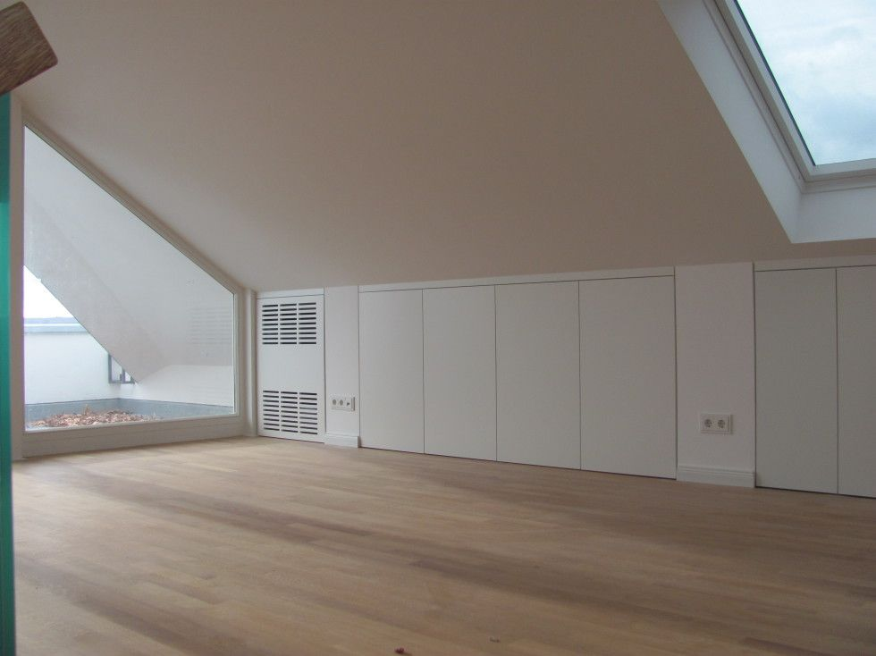 Stauraum unter der Dachschräge Schreinerei Bund - dachgeschoss ausbauen tolle idee wie sie den platz nutzen konnen
