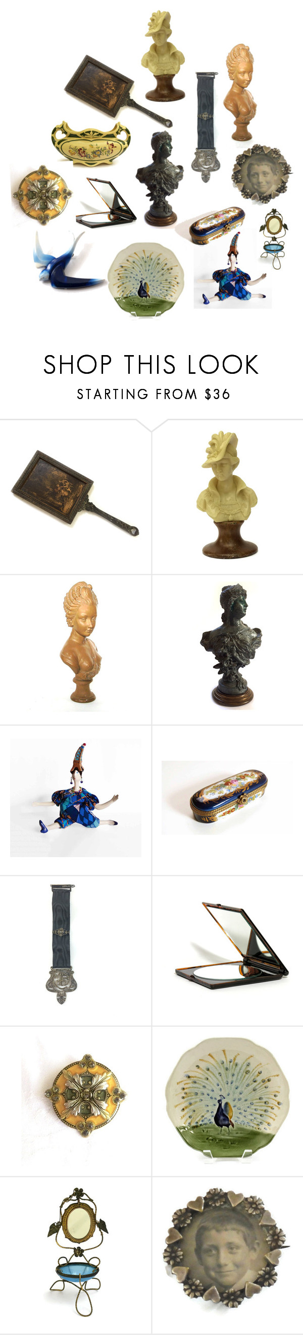 French Decor by patack on Polyvore featuring Epoque, Hun Rick Owens, ETUÍ, Millet and vintage