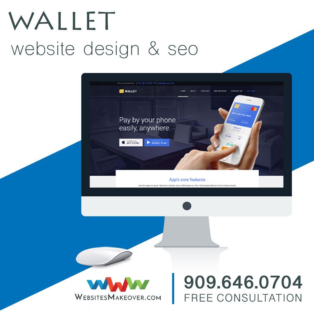 Wallet Website Design Web Developer Claremont Ca Walletwebsitedesign Websitedesign Portfolio Website Design Ecommerce Website Design Web Design Services