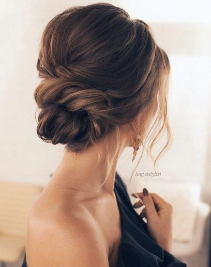 Bridal Hairstyles Side Updo Romantic 62 Best Ideas In 2020 Hair Styles Updos For Medium Length Hair Wedding Hair Inspiration