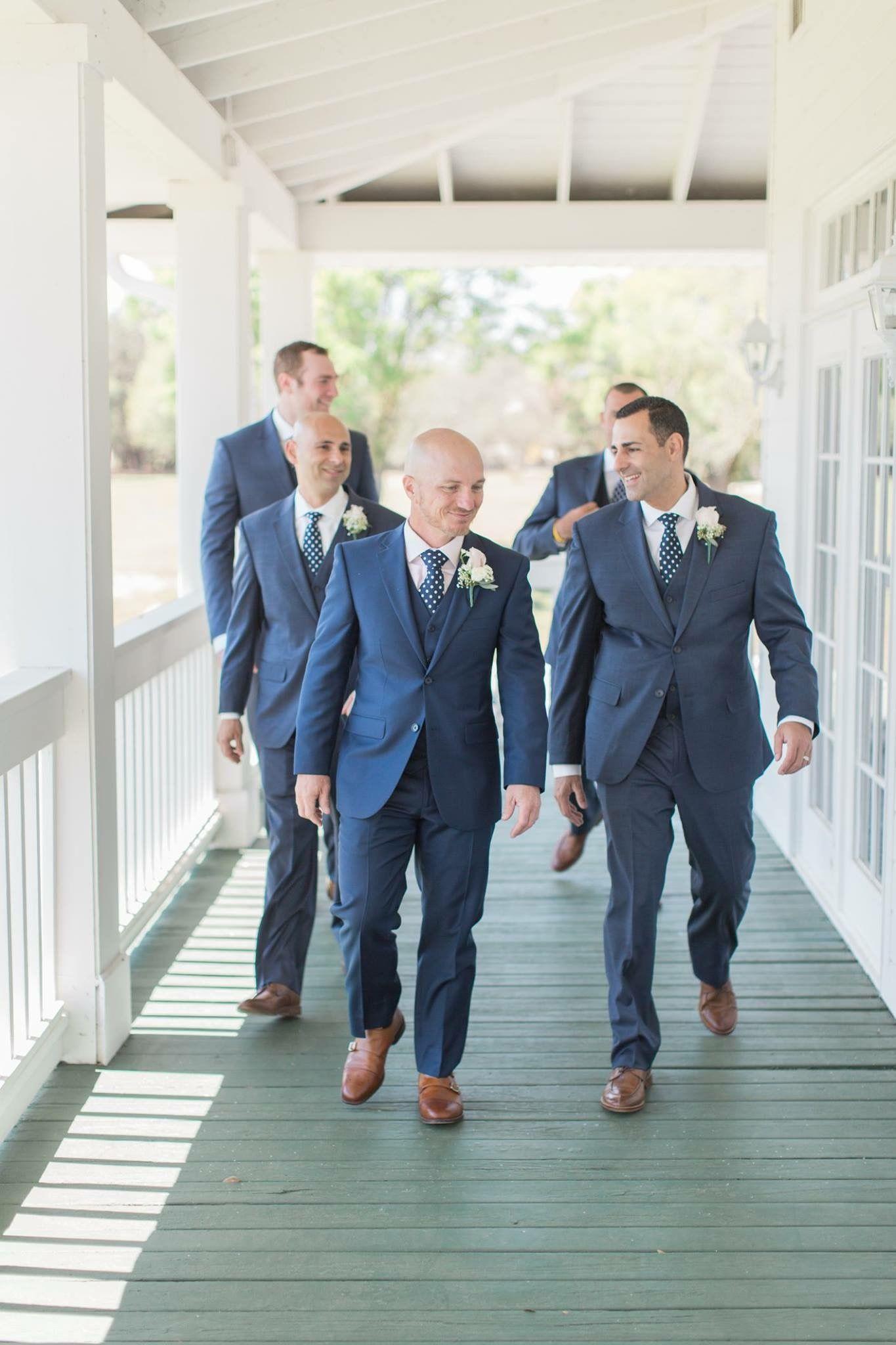 Groomsmen Navy Suit Brown Shoes | Big Day | Pinterest | Navy suit ...