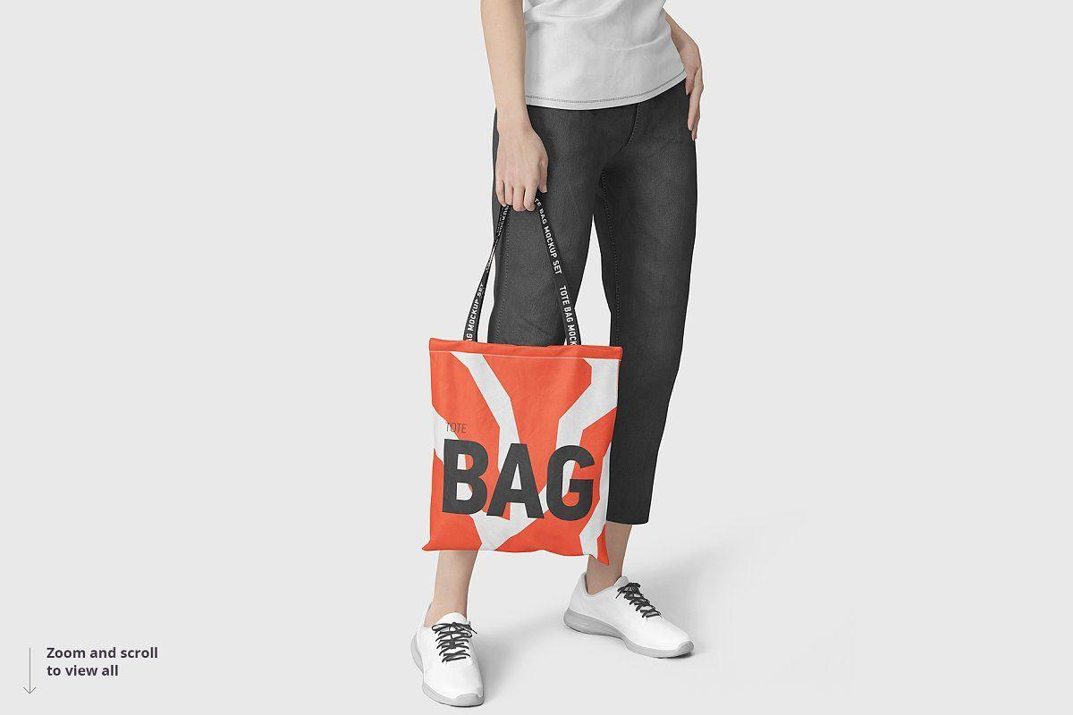 Download Tote Bag Mockup Bag Mockup Printed Tote Bags Tote Bag Design