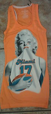 Marilyn Monroe Miami Dolphins Ryan Tannehill Hot Tank Top for Men and Women   295571fc74076