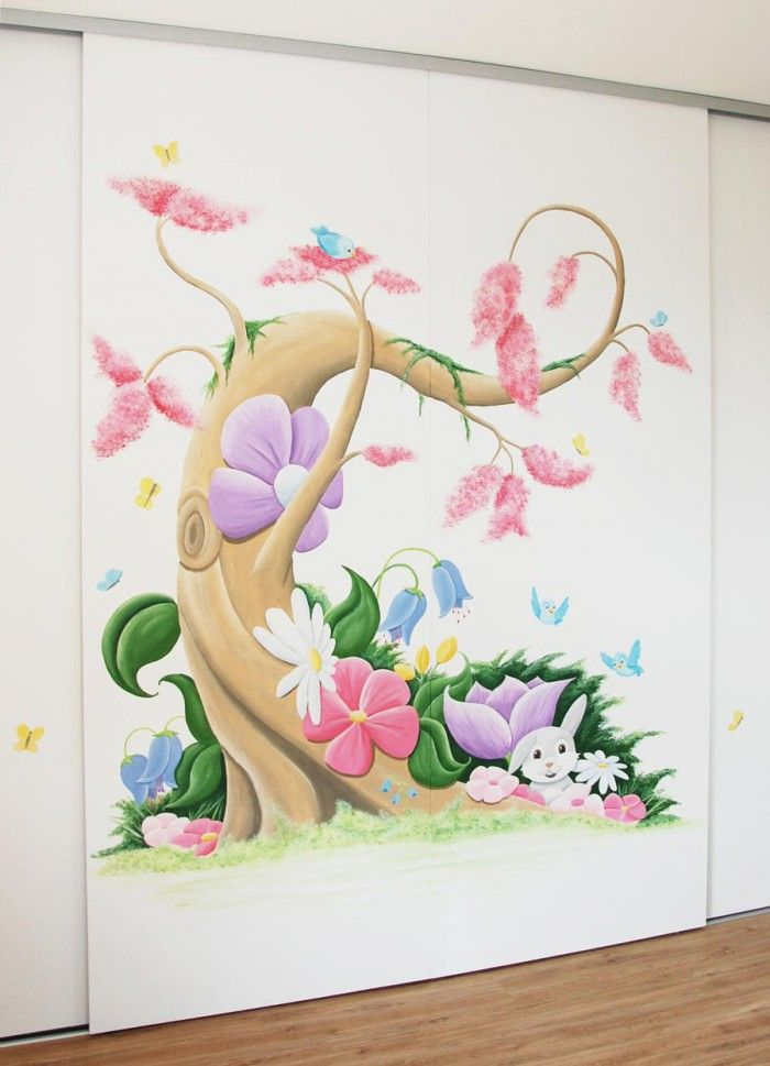 Muurdecoratie Kinderkamer Disney.Muurschilderingen Babykamer Wandschilderingen