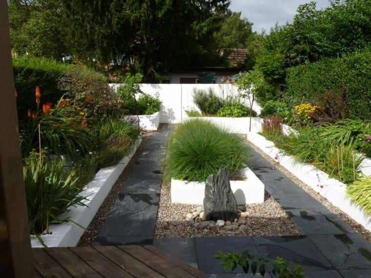 Dise o de jardines zen modernos jardines pinterest for Paisajismo jardines modernos