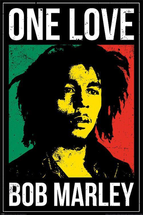 Bob Marley One Love Poster 24x36 Music 53124 Bob Marley Poster Bob Marley Music Bob Marley Art