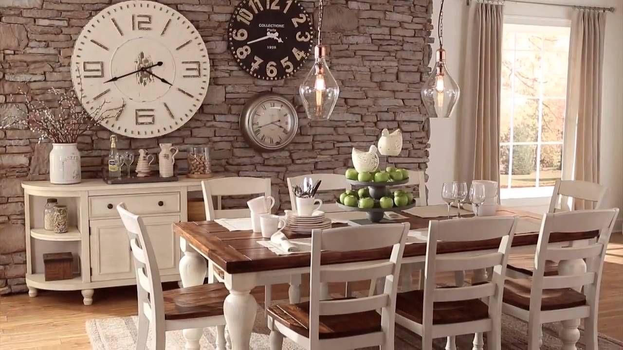 Rectangular Dining Room Table, Marsilona Dining Room Table
