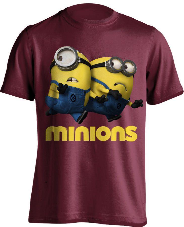 dec19cfa Minions Duo Custom Design High Quality Graphic T Shirt 100 Cotton dtg  Printing | eBay