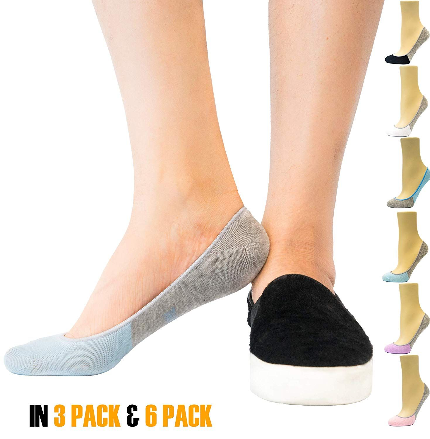 Show Socks with Non Slip Grip
