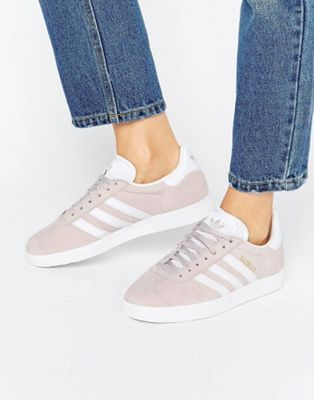 outlet store 304f5 3b586 adidas Originals Ice Purple Suede Gazelle Unisex Sneakers