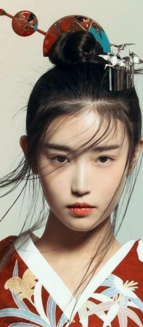 Completamente imperfecto peinados geisha Fotos de cortes de pelo Ideas - Pin de Manuel Tirado Velazquez en Rostros   Peinados ...