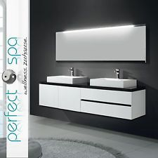 Modern Ii Double Badmobel Waschtisch Badkeramik Spiegel Badezimmer