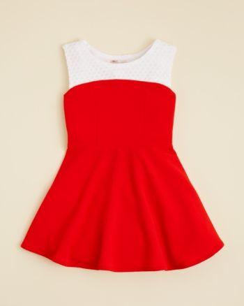 Sally Miller Girls' Barbados Dress - Sizes 4-6X - Tomato #sallymiller
