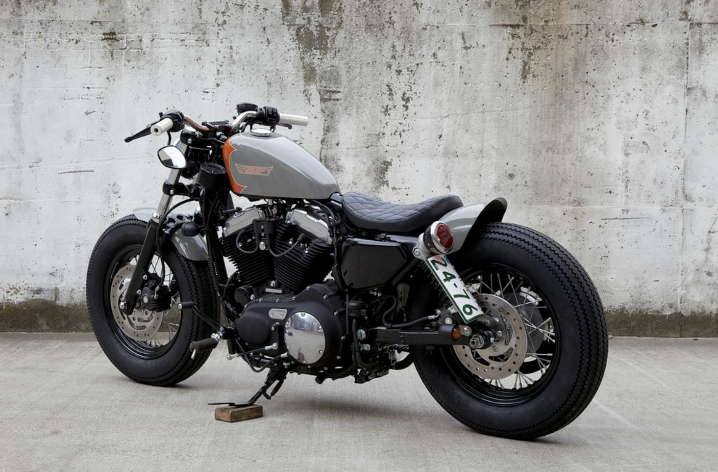 Harley Davidson bobber | makineira