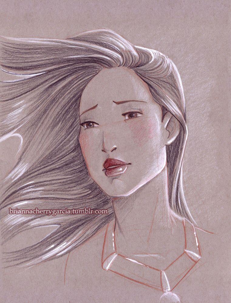 Pocahontas by briannacherrygarcia on @DeviantArt