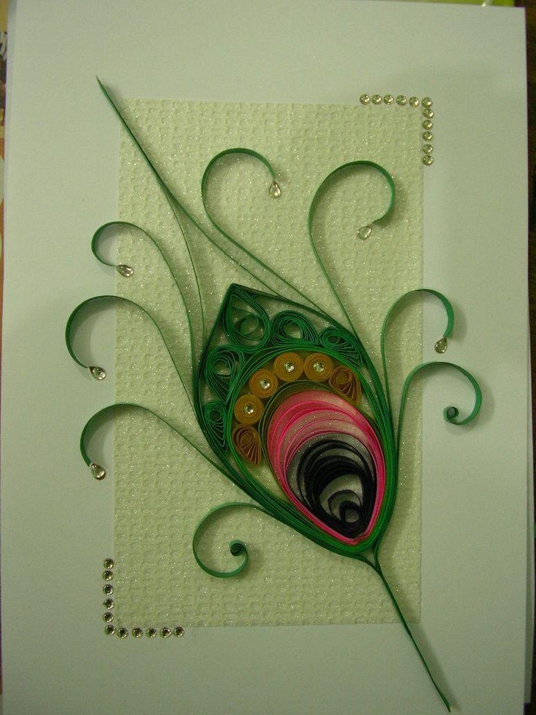 квиллинг открытки квиллинг птицы год почти восемь