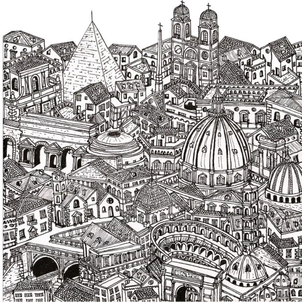 картинки антистресс города италии обработать