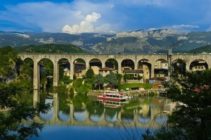 Saint Nazaire En Royans Aqueduc Bridges Saint Nazaire