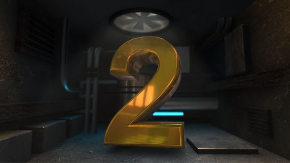 Underground D Countdown And Text Template And Design Inspiration - Editable after effects templates