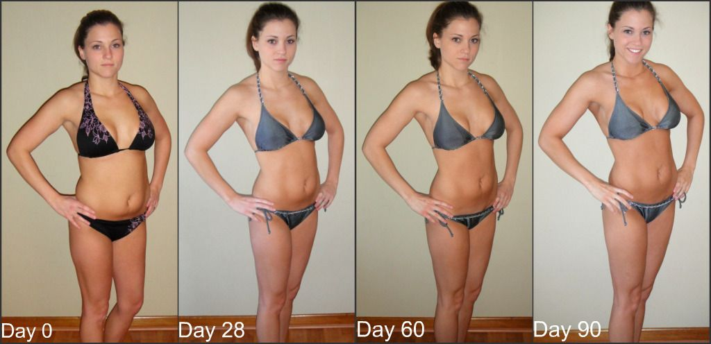 How to lose weight doing p90x