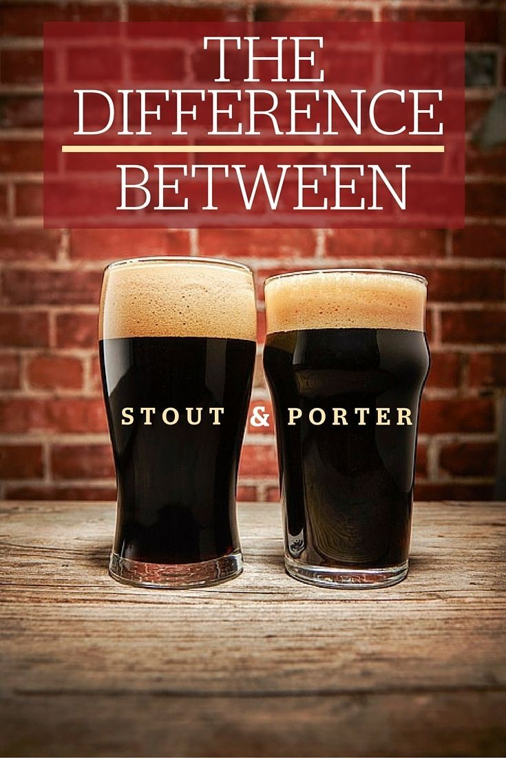 What Exactly Is The Difference Between Stout And Porter Beer Brewing Beer Home Brewing Beer